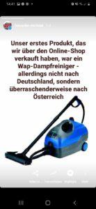 10- Karl Haeussler Dampfreiniger